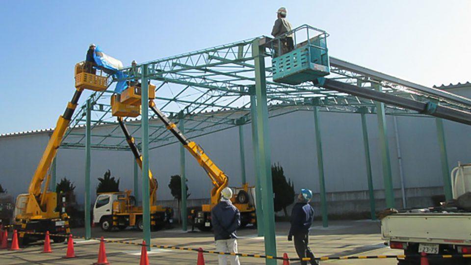 創業87年目、改修工事で働く環境を改善