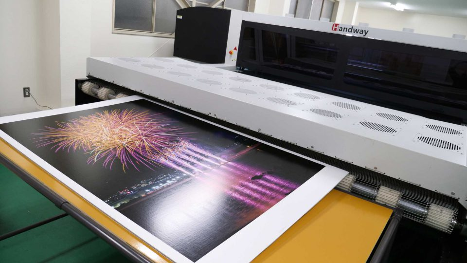 段ボールの可能性を広げる印刷機