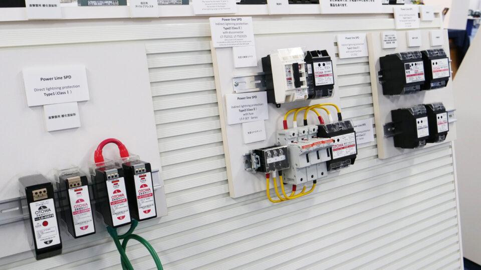 電気設備を雷被害から守る「避雷器」